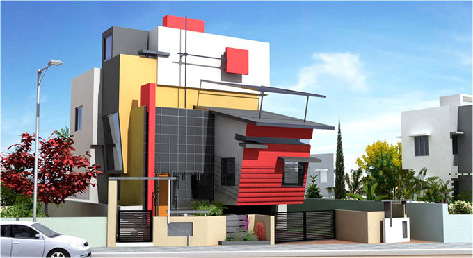 Architectural Design Consultants, Bangalore Architects. Click Here to  Enlarge View .
